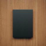Maquette de livre noir classique vide rendu 3d Image stock