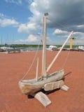 Maquette de navires en bois Images stock