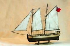 Modèle de navire Image libre de droits