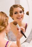 maquillage Fotografering för Bildbyråer