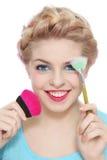 Maquillage photographie stock libre de droits