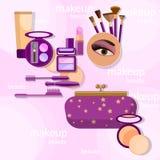 Maquillage Photo stock
