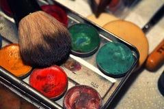 Maquillage Art Cosmetics Paint Brush Tools photo stock