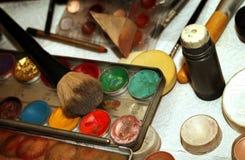 Maquillage Art Cosmetics Paint Brush Tools image stock