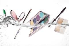 Maquillage Beauté et concept de fraîcheur Photos stock