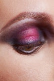 Maquillage d'oeil Photographie stock