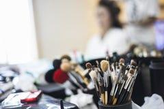 Maquillage d'outil de fard à joues Photo libre de droits