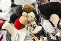 Maquillage d'outil de fard à joues Images stock
