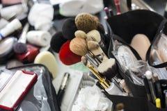 Maquillage d'outil de fard à joues Photographie stock libre de droits