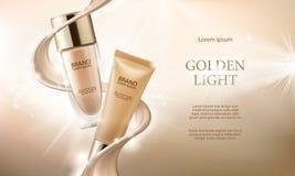 Maquillage de Colorstay dans l'emballage élégant sur un fond de baisse de base Photo libre de droits