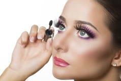 Maquillage de yeux Images libres de droits