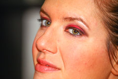 Maquillage professionnel Photographie stock