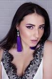 Maquillage professionnel pour des filles photo libre de droits