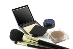 maquillageset Arkivfoto