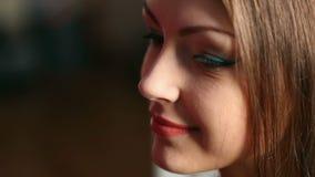 Maquillaje almacen de metraje de vídeo
