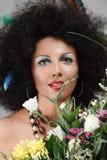 Maquillaje africano del estilo Imágenes de archivo libres de regalías