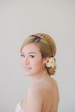 Maquillaje asiático de la mujer Fotos de archivo