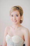 Maquillaje asiático lindo de la mujer Foto de archivo