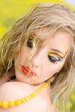 Maquillaje brillante Imagenes de archivo