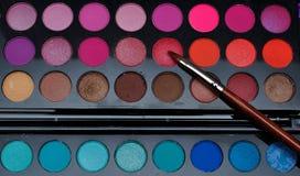 Maquillaje colorido Fotografía de archivo libre de regalías