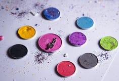 Maquillaje colorido Foto de archivo libre de regalías
