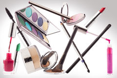 Maquillaje Concepto de la belleza Imagen de archivo