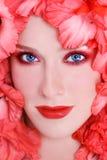 Maquillaje coralino fotos de archivo libres de regalías