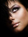 Maquillaje creativo Imágenes de archivo libres de regalías