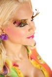 Maquillaje creativo Fotos de archivo libres de regalías