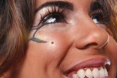 Maquillaje creativo del ojo Imagen de archivo libre de regalías