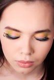Maquillaje de la belleza Fotografía de archivo libre de regalías
