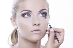 Maquillaje de la belleza fotografía de archivo