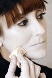 Maquillaje de la etapa fotos de archivo