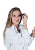 Maquillaje de la mañana fotos de archivo libres de regalías