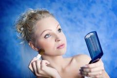 Maquillaje de la mañana Imagenes de archivo