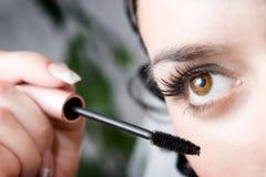 Maquillaje de la mañana Fotografía de archivo libre de regalías