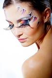 Maquillaje de la manera Foto de archivo