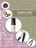 Maquillaje de la manera Imágenes de archivo libres de regalías