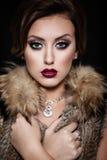 Maquillaje de la manera Art Foto de archivo libre de regalías
