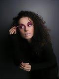 Maquillaje de la muchacha Imagen de archivo libre de regalías