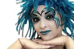 Maquillaje de la muchacha. Imágenes de archivo libres de regalías
