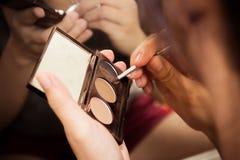 Maquillaje de la mujer Fotos de archivo