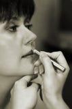 Maquillaje de la novia Imagenes de archivo