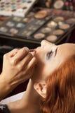 Maquillaje de los ojos Imágenes de archivo libres de regalías