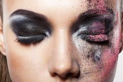 Maquillaje del arte imagen de archivo libre de regalías