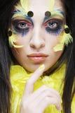 Maquillaje del día de fiesta Yo Fotos de archivo