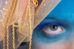 Maquillaje del ojo Imagenes de archivo