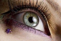 Maquillaje del ojo Fotos de archivo libres de regalías