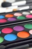 Maquillaje del sombreador de ojos Fotografía de archivo libre de regalías