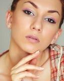 Maquillaje del verano Imágenes de archivo libres de regalías